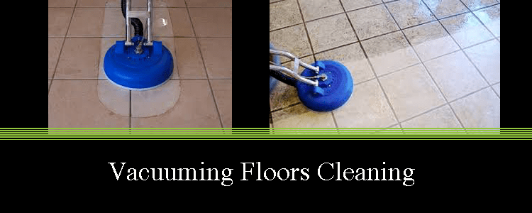 Vacuuming Floors Cleaning